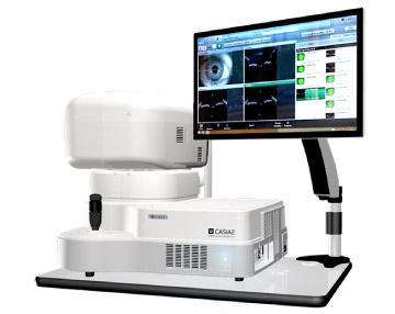 前眼部専用の非接触型画像診断装置/CASIA2