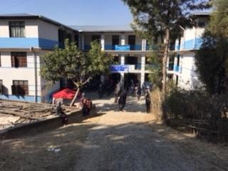 今回の活動場所となった学校